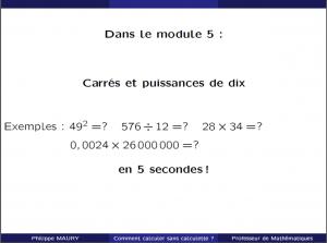 cours particuliers carrés et puissances de 10