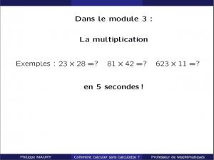 cours particuliers multiplier en 5 secondes