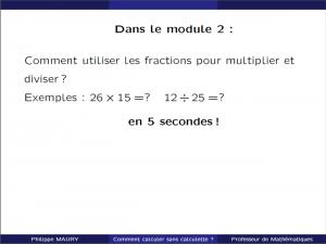 cours particuliers utiliser les fractions