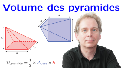 volume des pyramides